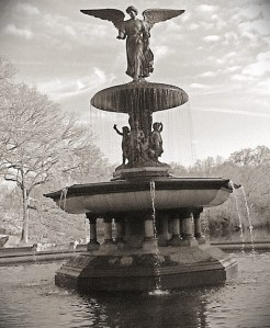 Bethesda Fountain, aka The Fountain That Grants Wishes